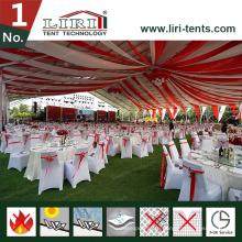 Большая палатка 50X60m белую вечеринку со стульями для 3000 человек