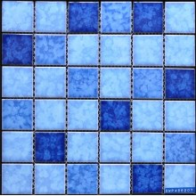 Mosaico in gres accidentata piscina