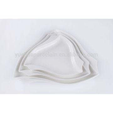 Billige Porzellanplatte mit guter Qualität