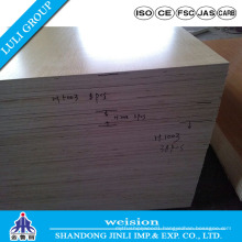 Melamine Paper Faced Plywood with Poplar Core