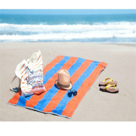 Reserved 2 Sided Beach Towel with Tote Bag