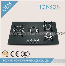 Tempered Glass 4 Burners Gas Hobs