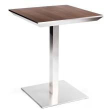 Популярные дизайнерские деревянные ресторанные бистро квадратные обеденные столы