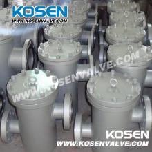 Сетчатый фильтр корзины из литой стали (G41)