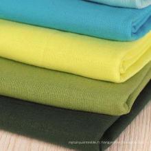 Tissu en coton en lin, tissu de lin en coton en coton 20s