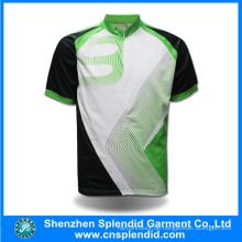 Heißer Verkauf Kundenspezifische 100% Polyester-Sublimations-Fahrrad-Kleidung