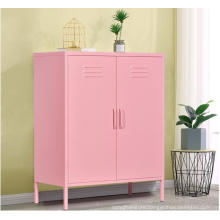 Modern Colorful Metal Furniture Shoe Storage Cabinet with Factory Price