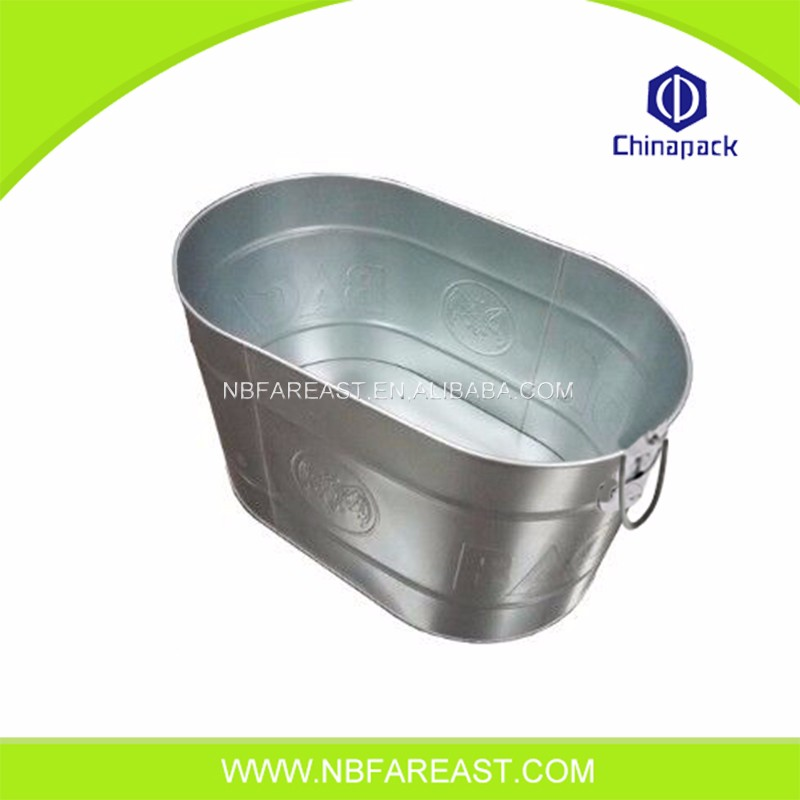 Newest fashion square plastic ice bucket