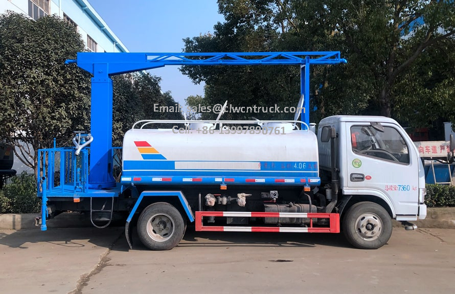 Railway Dust Suppression Truck For Sale