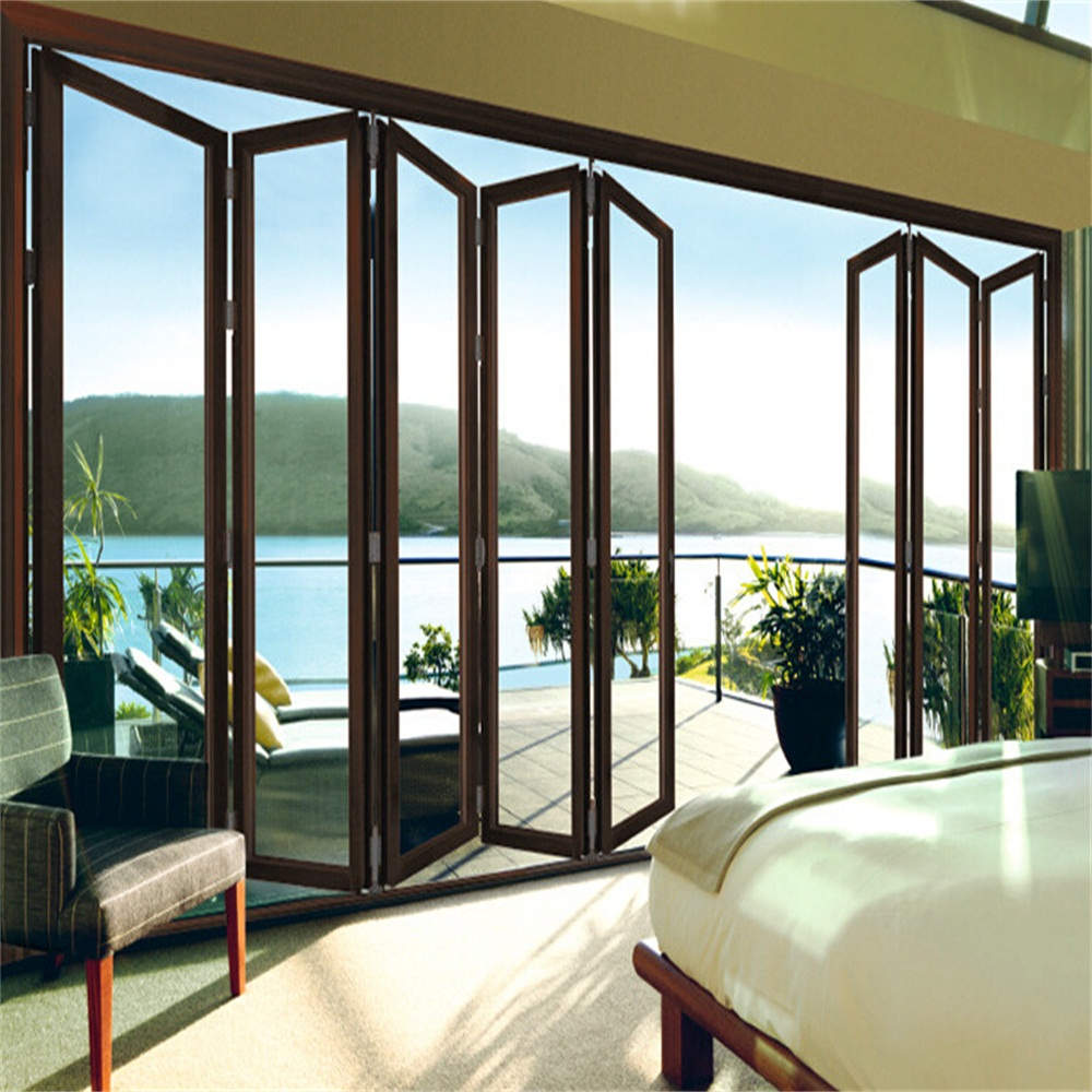 folding door for villa