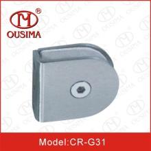 Нержавеющая сталь круглой формы Стеклянный крепежный зажим (CR-G31)