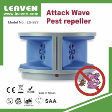 LS-927 Attack Wave Dual Speaker Ultrasonic Rodent Pest Repeller Controller