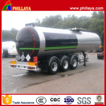 Neu entwickelter 30-50 Cbm 3 Achsen Fuel Tanker Semi Trailer