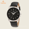 Men′s Casual Leather Strap Watch 72545