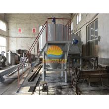 2016 Venta caliente de cáscara de coco de carbón activado horno continuo de carbonización