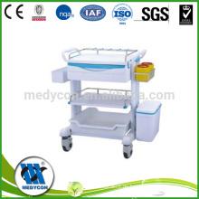 Multifunktionale Erste-Hilfe-ABS-Karosserie-Trolley-Trolley