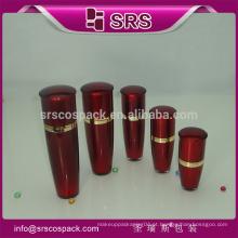 Bela e colorida loção garrafa, cosméticos garrafas para loção e pele branqueamento corpo loção garrafa