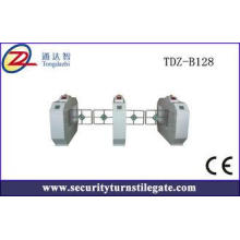 New design SS304 Automatic Swing Barrier Gate High Speed Tu