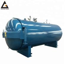 Horizontal steam vulcanization autoclave for rubber vulcanization tubes rubber roller autoclave vulcanization shoes