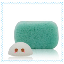 100% éponge Konjac naturelle originale du japon/éponge konjac nettoyante pour le visage/éponge faciale Konnyaku
