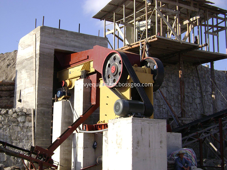 Jaw Crusher PE600X900