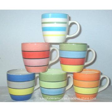 14oz Hand Painting Design Ceramic Mug
