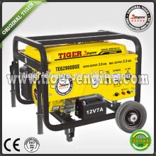2.0KW-2.3KW 5.5HP Бензиновый генераторный комплект TEG Serise TEG2900DXE Электрическая стартовая система