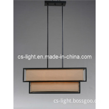 Unique Stereo Shape Simple Metal Chandeliers Lamp with UL