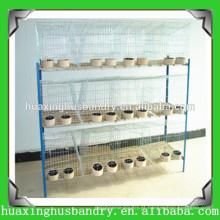 Gaiola de coelho de aço inoxidável galvanizado Q235 de 3 ou 4 camadas