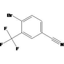3-Trifluorométhyl-4-Bromo Benzonitrile N ° CAS 1735-53-1