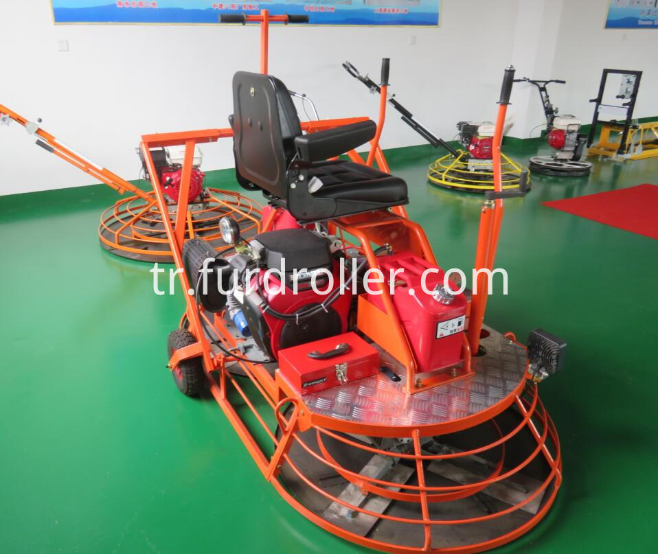 ride on concrete trowel with honda engine