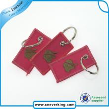 High Quality Custom Embroidery Key Chain