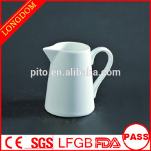Hotel Supplies White Ceramic creamer pot milk jug