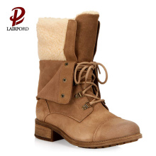 hot sale flat warm winter boots factory
