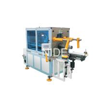 Motor del ventilador Tipo horizontal Bobina de estator Bobinadora Insertar la máquina