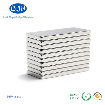 Permanent Sintered NdFeB Magnet Square Sharped Can Be Customized