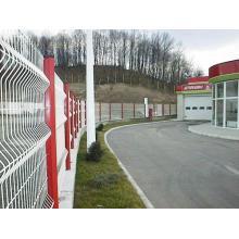 PVC beschichtet Zaun und Post