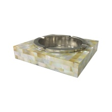 Eco mesra ibu Golden Pearl Ashtray
