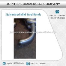 Conexiones de tubería galvanizadas de acero dulce Curvas disponibles a granel