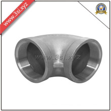 ASTM 304 Ss 180 Degree Threaded Sr Casting Elbow (YZF-L190)