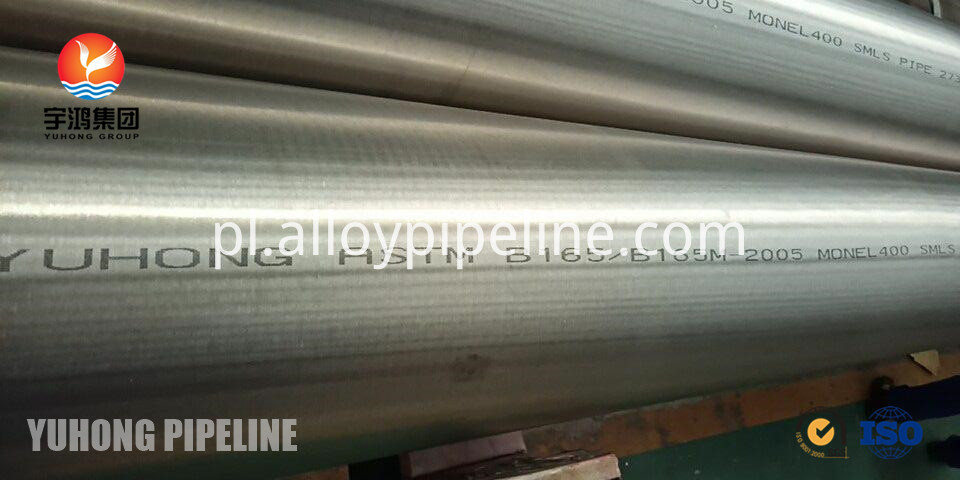 Astm B165 Monel 400 Seamless Pipe