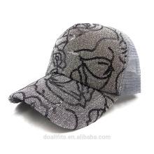 Capuchon de flash pour logo personnalisé avec casquette de baseball en maille
