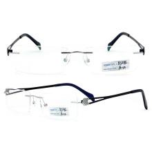 Titanium Rimless Eyeglasses Frames (BJ12-295)