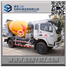 Автобетоносмеситель Dongfeng 5 M3 с технологией Schwing
