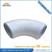 ANSI B16.9 codo de aluminio 90D LR codo