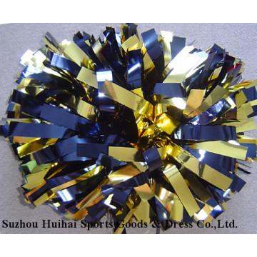 Metallische Gold Marine POM Poms
