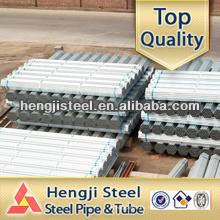 Erw schedule 40 tubo de acero galvanizado para agua