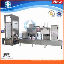 Machine de remplissage liquide de 1-5L pour la peinture d'eau / agent de traitement