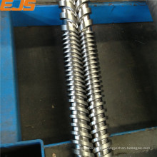 Nitrurado paralelo doble tornillo y barril para Perfil de PVC