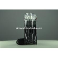 Preto cor bolha de cartucho de toner de plástico, sacos de colunas de ar